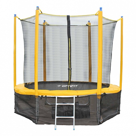 Батут OPTIFIT Sun Like 12ft 3,66 м желтый