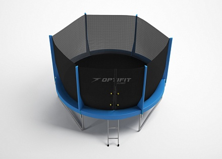 Батут OPTIFIT JUMP 8FT синий